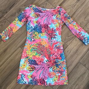 Lily Pulitzer Christie V-Neck T-Shirt Dress